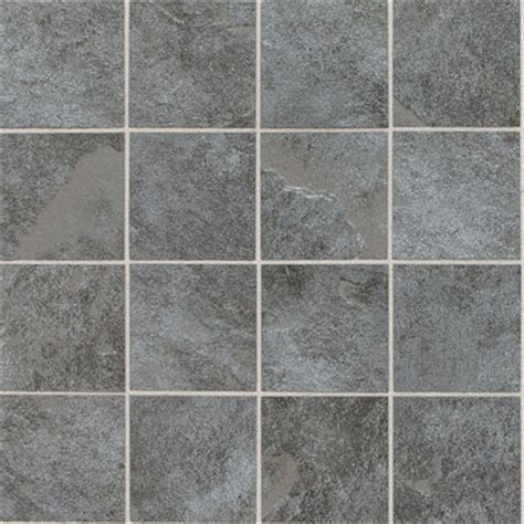 Rubber Floor Tiles For Bathrooms - daltile continental slate mosaic 12 x 24 tile amp stone colors