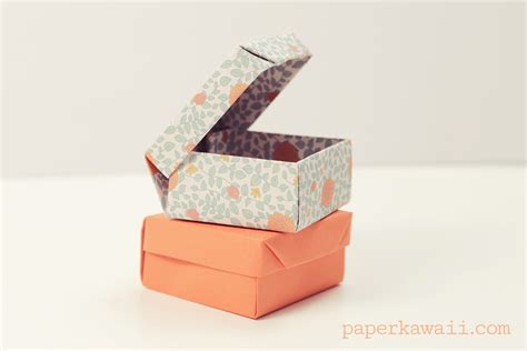 Paper Ring Origami - origami ring box for s day paper kawaii