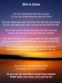 quot she is quot funeral poem for my you can shed