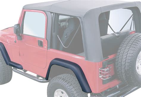 Aftermarket Jeep Fenders Rugged Ridge Replacement Fender Flare Kit Free Shipping