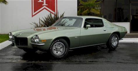 1970 camaro green green mist 1970 camaro paint cross reference