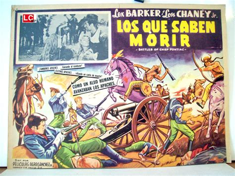 los tercios saben morir quot los que saben morir quot movie poster quot battles of chief pontiac quot movie poster