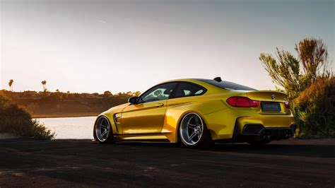 gold cars wallpaper bmw m4 wallpaper