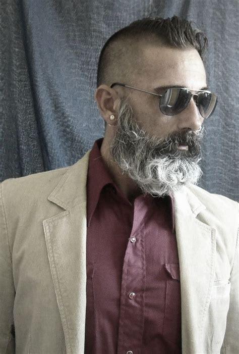 long salt and pepper beards salt and pepper beard styles newhairstylesformen2014 com