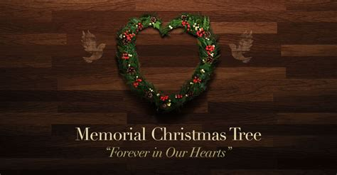 memorial christmas tree at christian tabernacle by