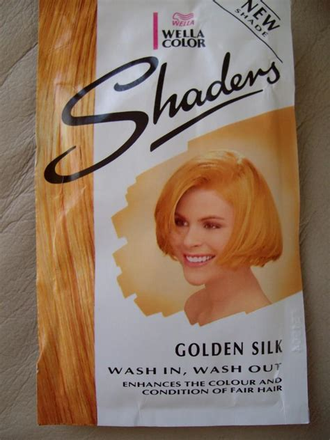 sachets of hair colours 2015 1 x wella shaders blonde wash in wash out single use