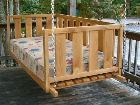 king swing bed swing beds our swing beds come standard in a crib twin