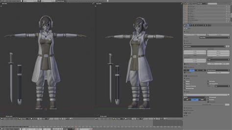 Blender 3d Modeling A Character