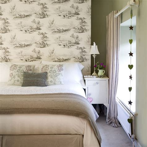 natural bedroom natural bedroom with toile wallpaper bedroom designs