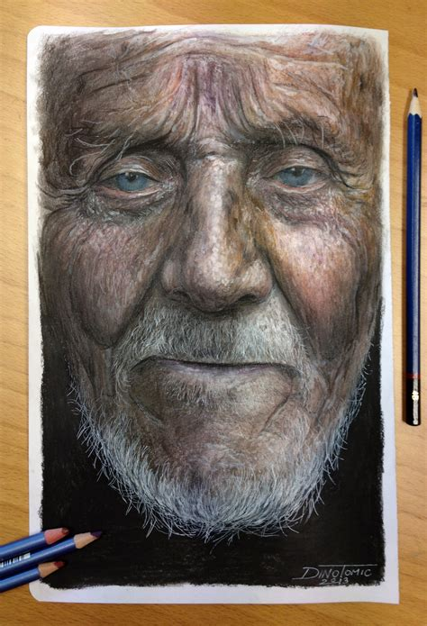 colored pencil painting portraits color pencil portrait drawing by atomiccircus on