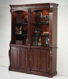 Wood Bookcase Cabinet Mahogany Wood Bookcase Cabinet