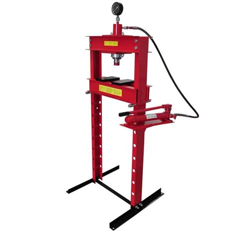 1 Ton Hydraulic Floor Press by 20 Ton Air Hydraulic Floor Shop Press H Type Www Vidaxl