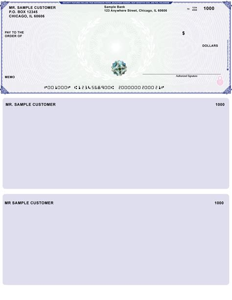 Business Check Template