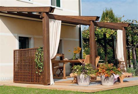 pergole per terrazzi strutture in legno per terrazzi pergole e tettoie da