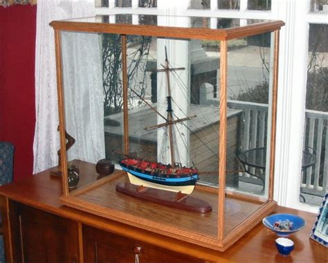 model boat glass cases model ship display suggestions and recommendations