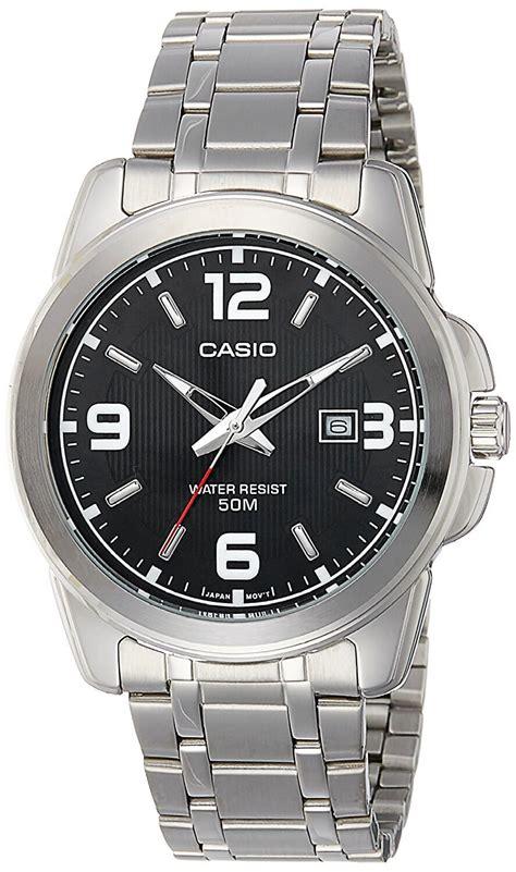 Casio Mtp 1314d White casio enticer analog black s mtp 1314d 1avdf watchista