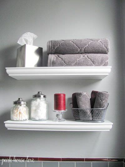impressive bathroom shelf decorating ideas with best