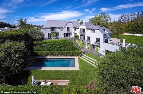 Mailonline Home by American Idol Creator Simon Fuller Lists Lavish Beverly Mansion For 15 9 Million Daily