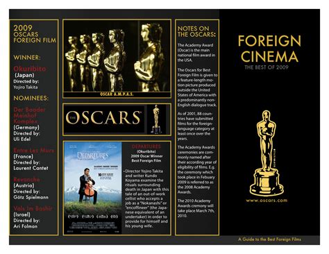 foreign film oscar requirements multimedia projects san saefong