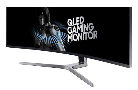 Samsung Qled Gaming samsung chg90 144hz qled curved gaming monitor