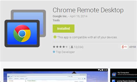 chrome desktop checkout how to control your pc using your android device
