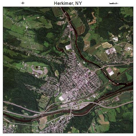 Herkimer Ny aerial photography map of herkimer ny new york