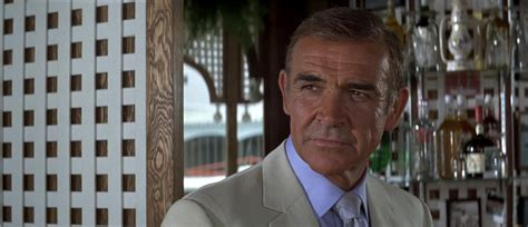 timothy dalton never say never again never say never again cream suit the suits of james bond
