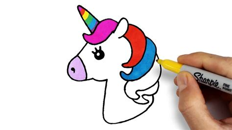 unicorn drawing  coloring   draw unicorn tek