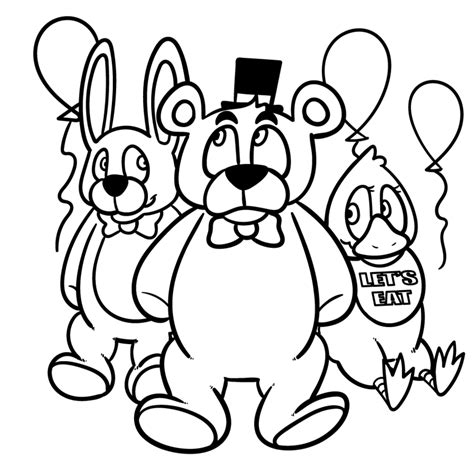 five nights at freddy s coloring book great coloring pages for and adults unofficial edition books fnaf coloring page by mentallymanic on deviantart