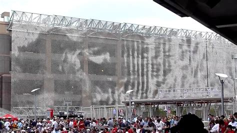 2 Bay Garage target field wind veil youtube