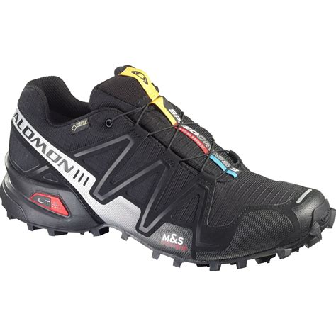 solomon trail running shoes salomon speedcross 3 gtx s trail running shoes open