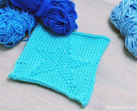 knitting pattern star motif monthly stitch free star pattern yarnplaza com for