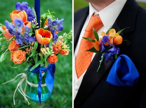 blue and orange royal blue and orange wedding theme www pixshark com