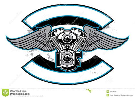 Motorcycle Cliparts Motorcycle Club Logo Template Free