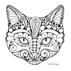 cat coloring pages for adults free cat coloring page colouring trich help