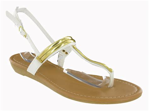 toepost flip flop buckle small wedge summer womens strappy