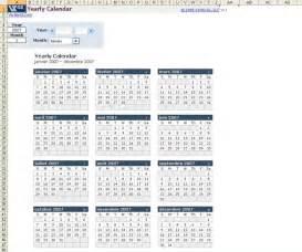 Calendario 2003 Completo Plantilla De Calendario Anual En Excel Descargar