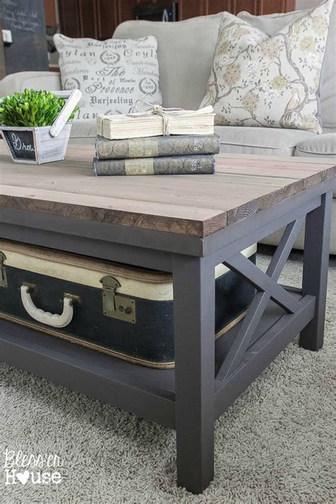 Barn Wood Top Coffee Table