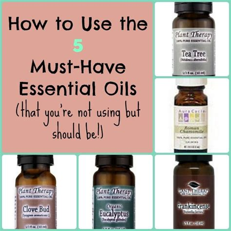 Must Aromatherapy Oils by 201 Best Remedies Images On