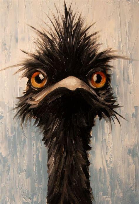 paint nite emu 25 b 228 sta animal paintings id 233 erna p 229