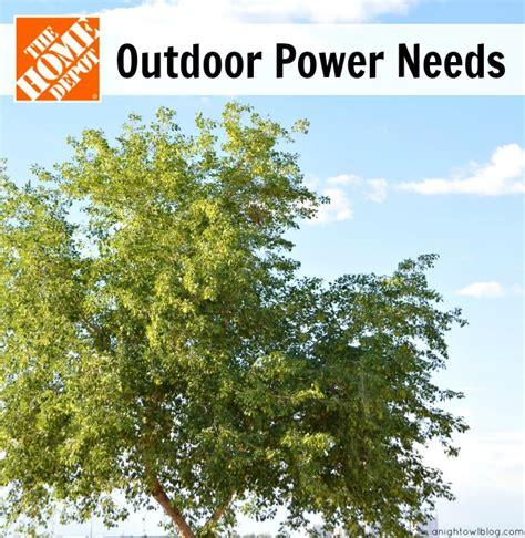 outdoor power needs and the home depot garden club digin