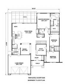 southwestern home plans adobe southwestern style house plan 3 beds 2 baths 2142 sq ft plan 116 296
