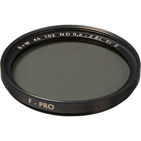 B W 46mm Sc 106 Solid Neutral Density 1 8 Filter 6 Stop b w 46mm sc 102 solid neutral density 0 6 filter 65 072842 b h