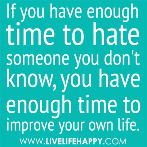 aptoide you don t have enough quot if you have enough time to hate someone you don t know y
