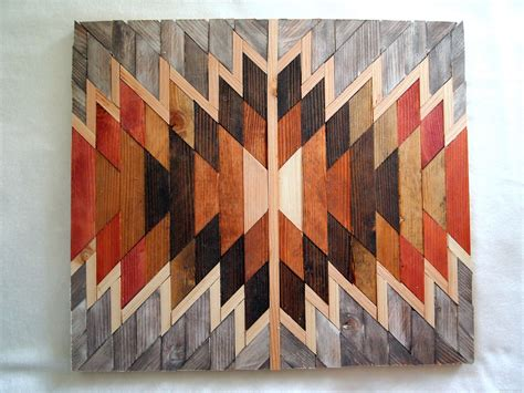 art design on wood wooden kilim wall art sawdust and embryos