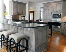 grey oak kitchen cabinets gray stained washed hickory cabinets house pinterest grey cabinets and islands