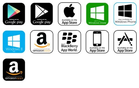 Play Store And App Store Icons App Store Icon Www Pixshark Images