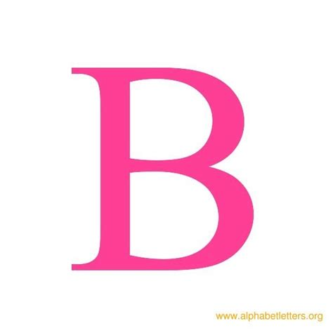 printable letters in pink the letter b in pink www pixshark com images galleries