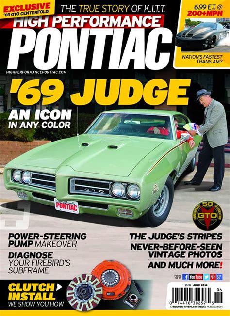 pontiac magazine high performance pontiac magazine subscriptions renewals