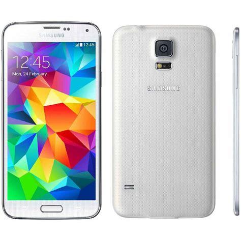 samsung galaxy s5 sm g900v verizon wireless 16gb android smartphone white mint 887276973920 ebay